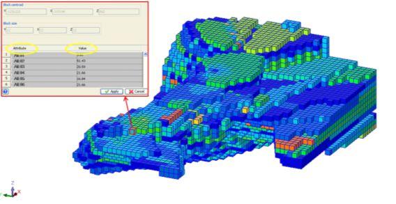 Blokový model ako metóda využiteľná pri výpočte zásob