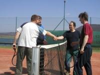 Tenisový turnaj - Teplý vrch