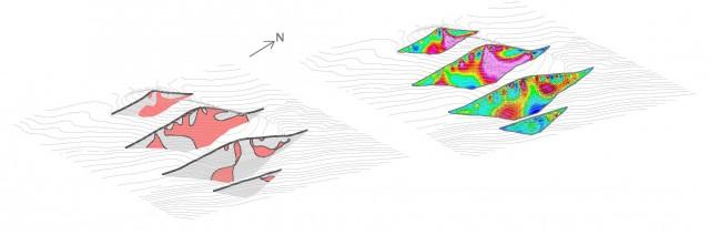 Geofyzikálne merania využité pri výpočte zásob (metóda rezov)