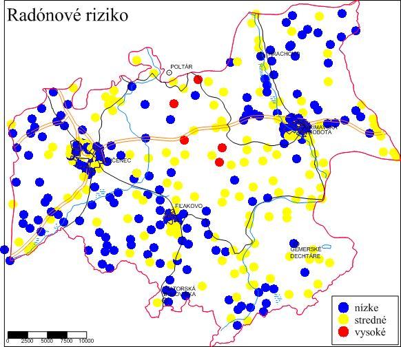 Mapa radónového rizika