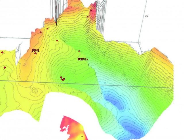 3D model rozloženia hmôt - Popradská kotlina